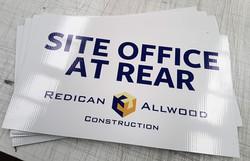Site Office Corflute