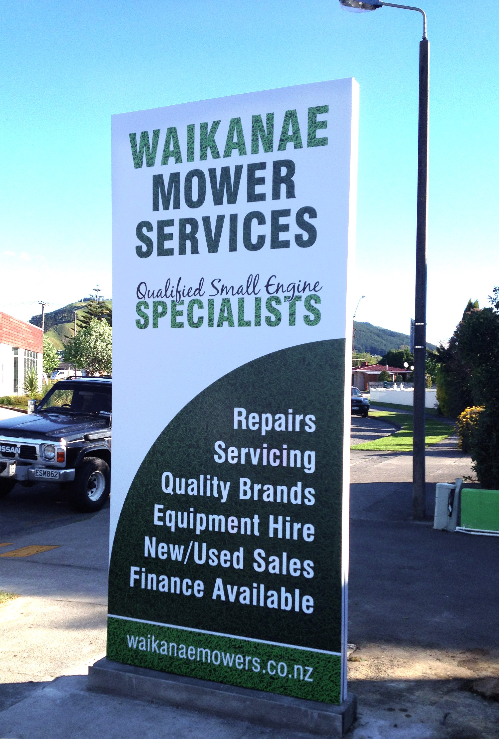 Waikanae Mowers Services