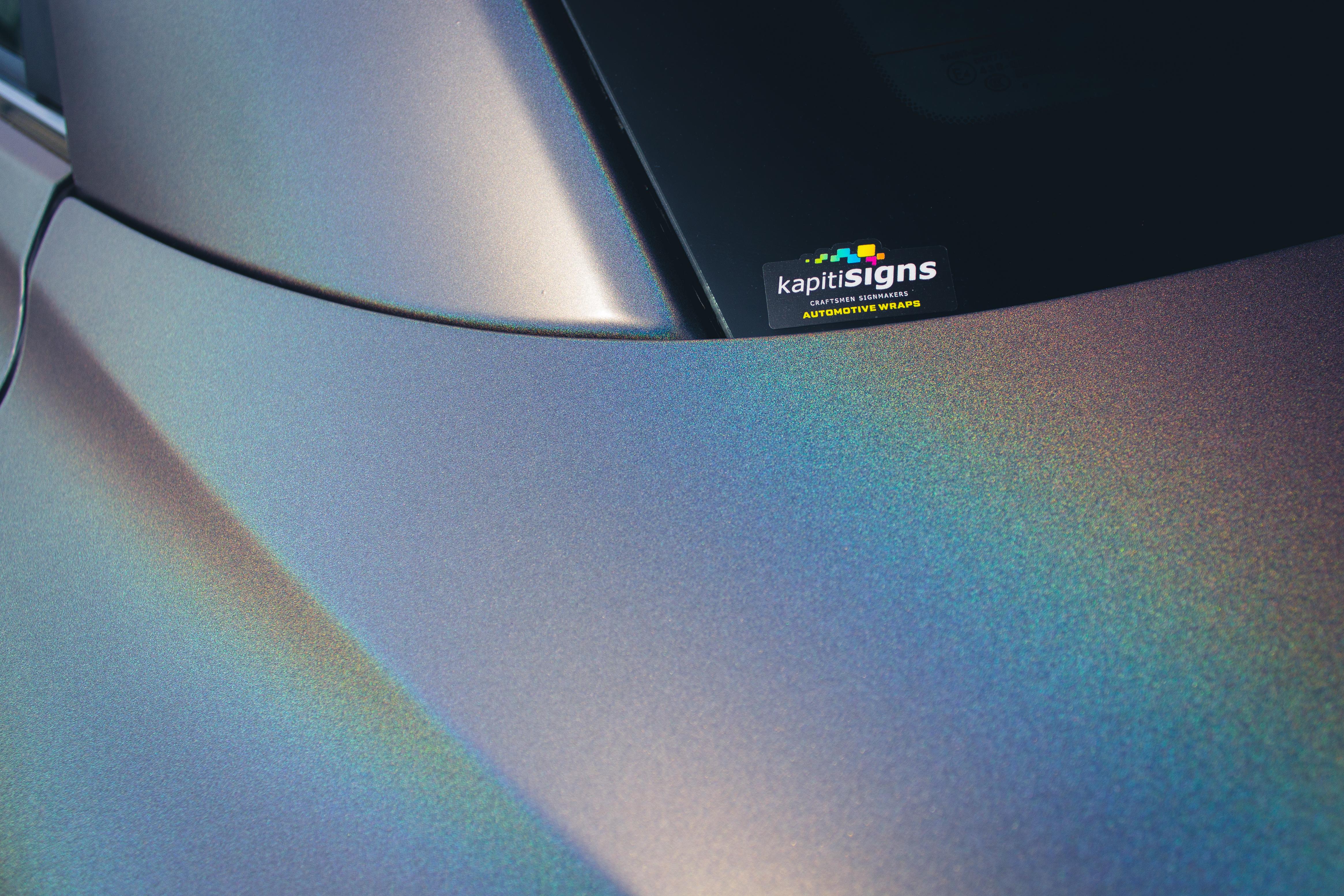 Infinity Q6 Car Wrap
