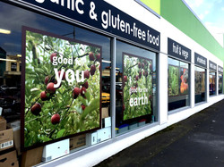 Commonsense Organics exterior signs