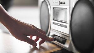 Boombox Music Player