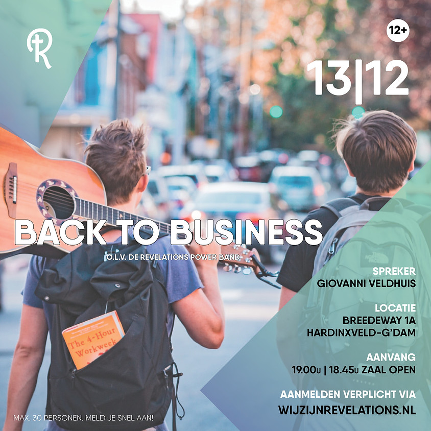 Revelations | Back to Business