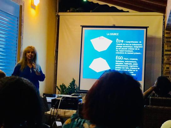 Marion Le Troquer, conférence