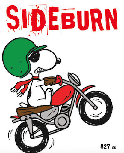 01 Sideburn 27 Snoopy Cover copy
