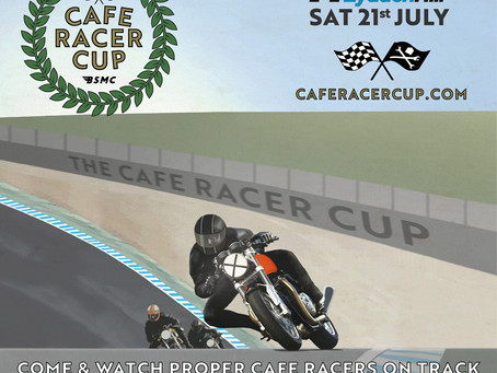 Cafe Racer Cup - This Weekend