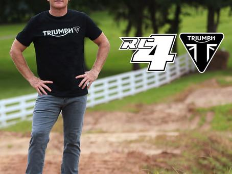 Triumph To Go Dirt Biking