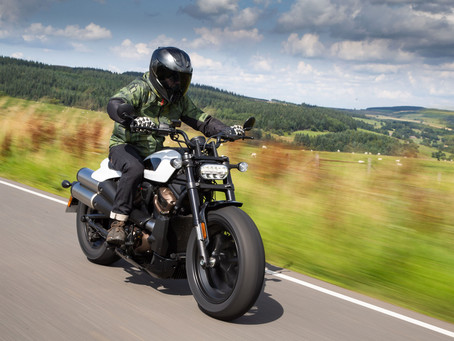 First Ride: H-D Sportster S
