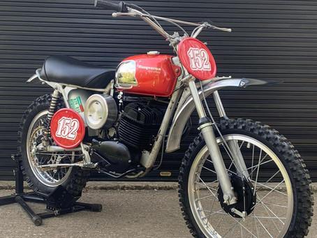 For Sale: 1971 Husqvarna 400 Cross
