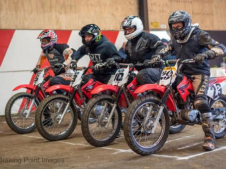 Indoor UK Minibike Racing