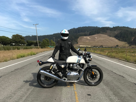 Royal Enfield Continental GT: Riding