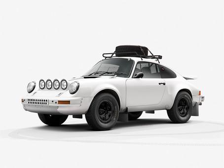 Porsche 911 Rally CGI by INK