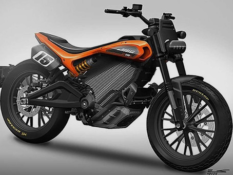 Harley Electric Street Tracker Concept