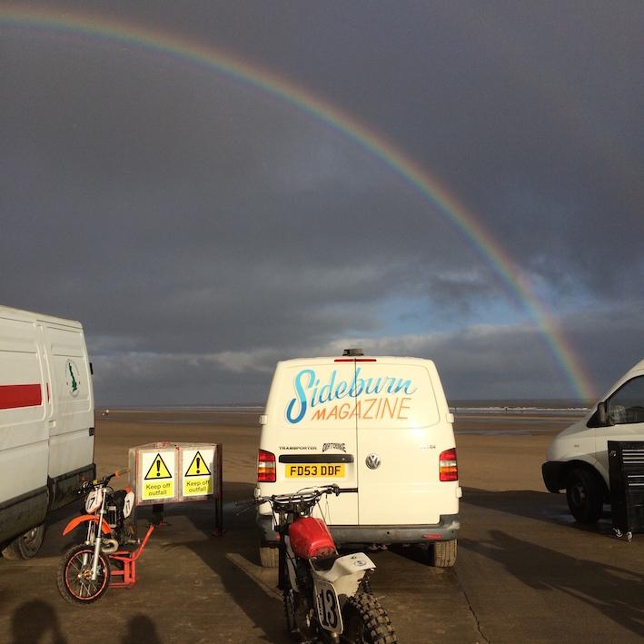 Sideburn Mablethorpe rainbow
