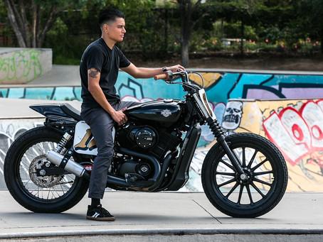 Jimmy's Harley 500