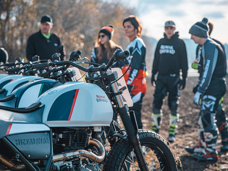 Royal Enfield Slide School USA