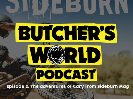 Sideburn on the Rusty Butcher Podcast