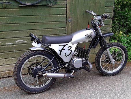 SOLD 1978 Yamaha DT 175