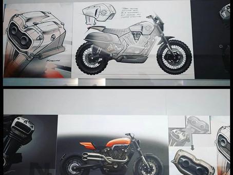 Harley Street Tracker Concept
