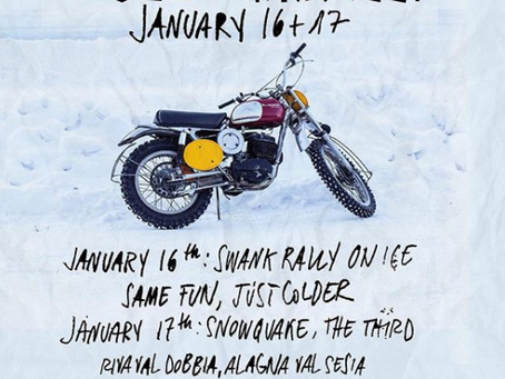Deus Swank Rally + SnowQuake
