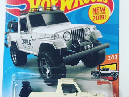 Earle Motors Honoured by Hot Wheels
