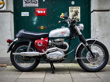 For Sale: A65 Street Scrambler