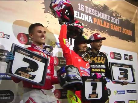 Beach wins Superprestigio, but Rossi steals thunder