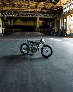 Sideburn AMP Motorcycles Yamaha WR400 CG