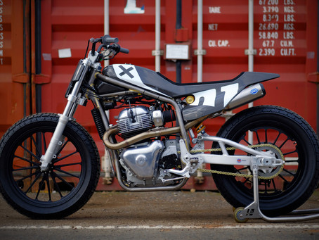 Harris Royal Enfield 650 Twin FT Concept