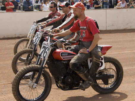 Skooter Farm Racing: Early Days UK Flat Track MEGAPOST