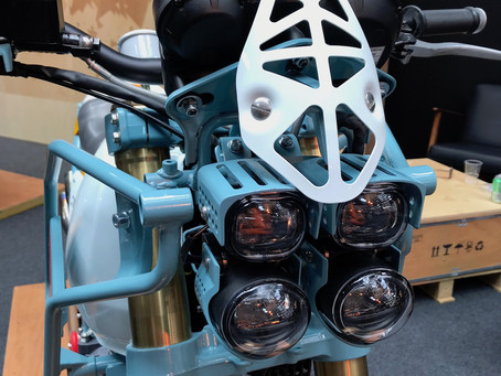 Royal Enfield MJR Roach Custom