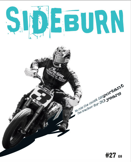 Sideburn 27 Indian FTR750 Cover