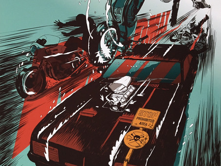 Interceptor Mad Max Print