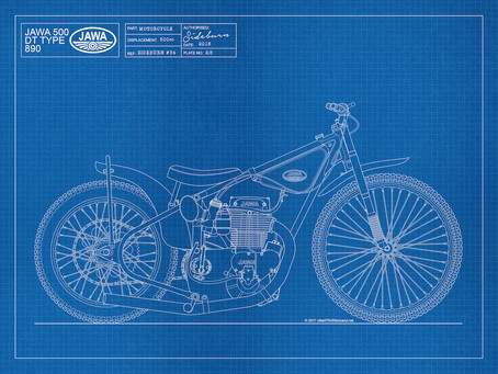 Jawa Type 890 Blueprint