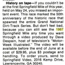 History on Tape