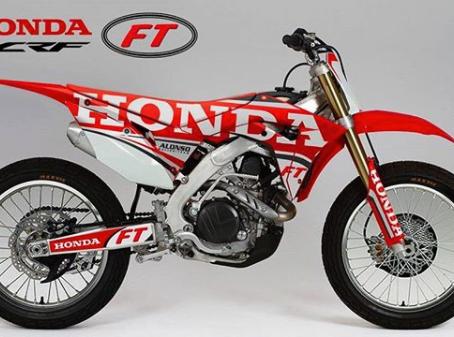 Honda CRF450 FT