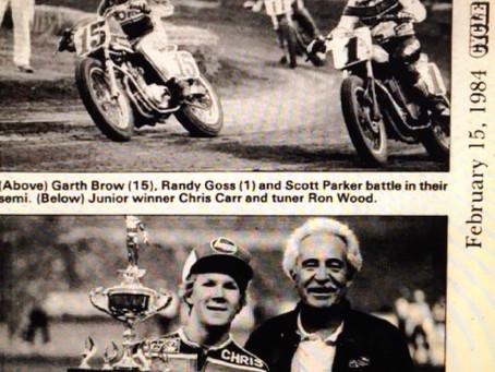 Chris Carr, Ron Wood, Houston 1984