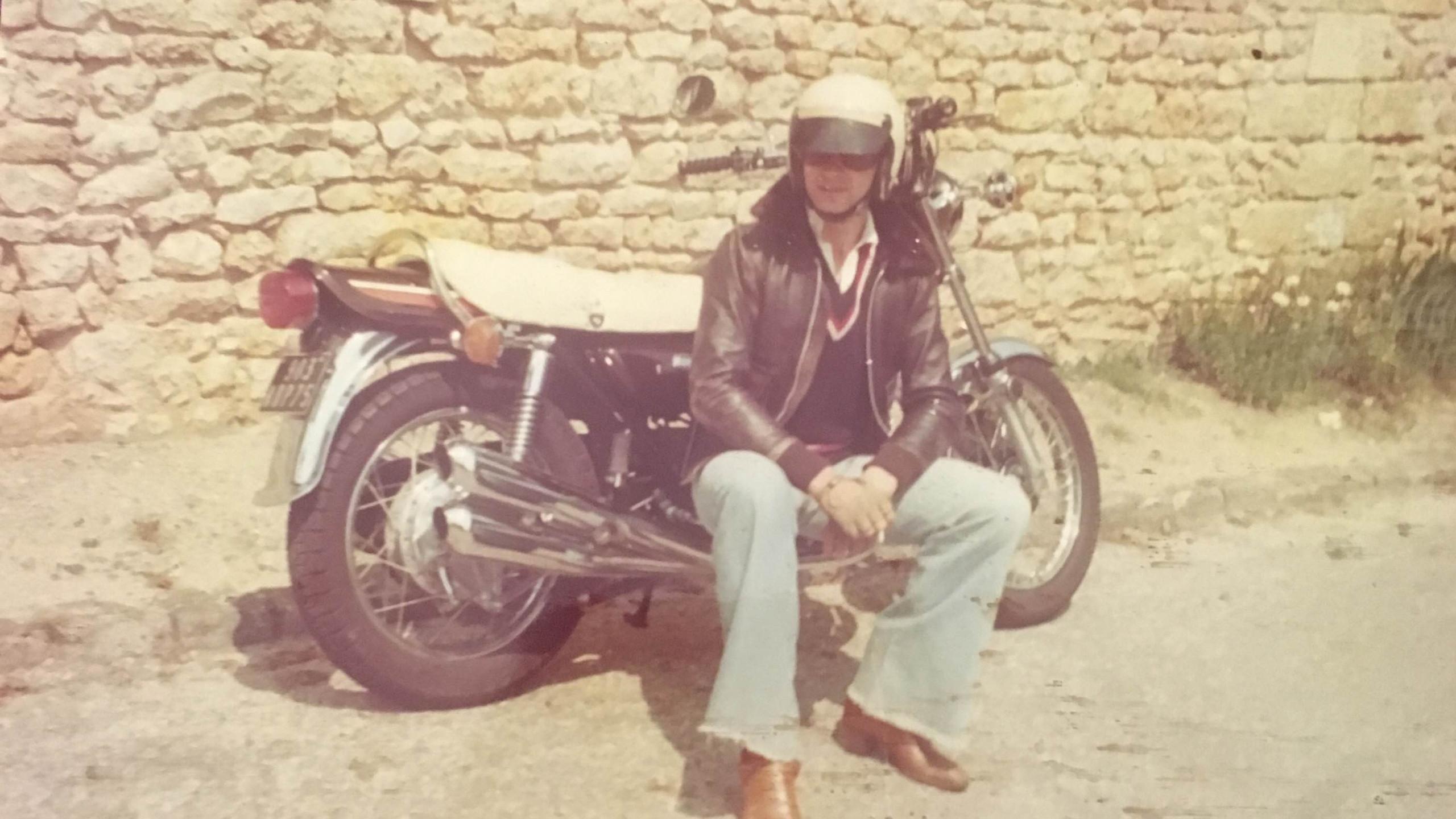 Z 900 Kawasaki in 1973