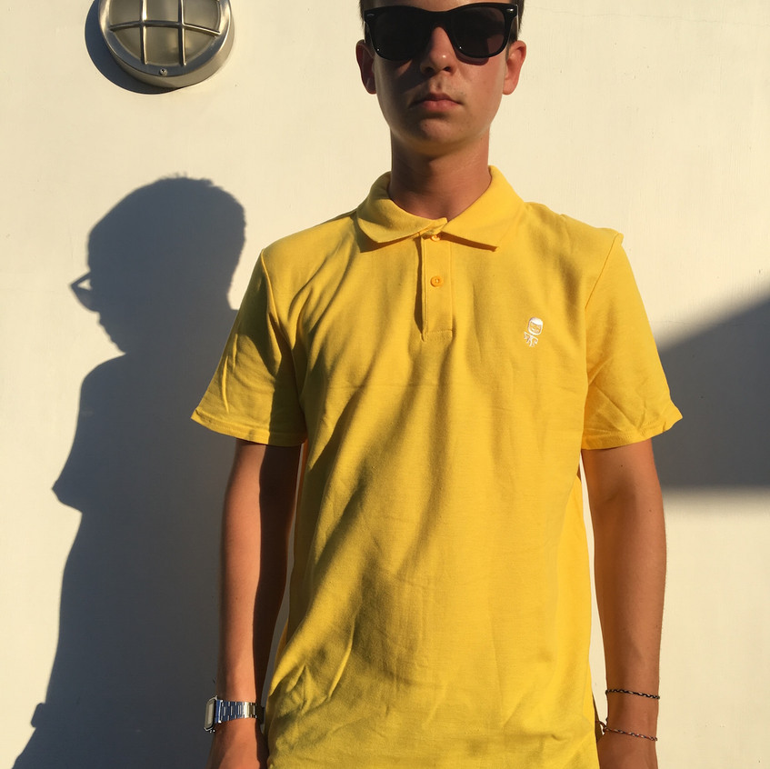 Sideburn Dwayne Polo Shirt - Max Yellow