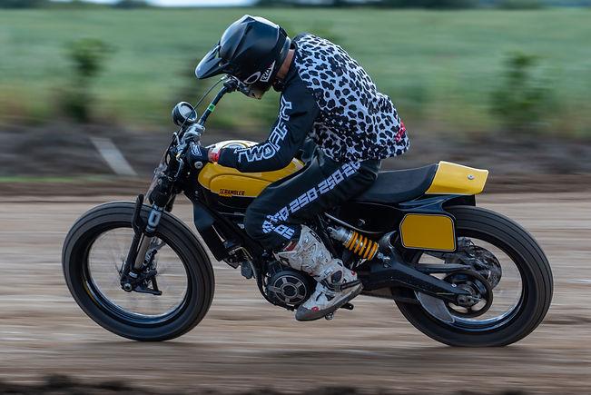 Sideburn Gary Birtwistle Ducati Scramble