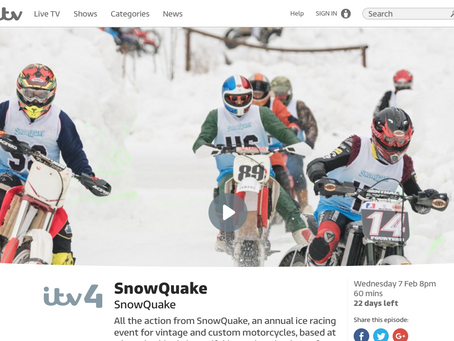 SnowQuake on the ITV Player