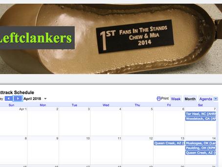 Leftclankers Race Calendar