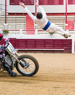 Sideburn HapChot Wheels motorcycle bullf