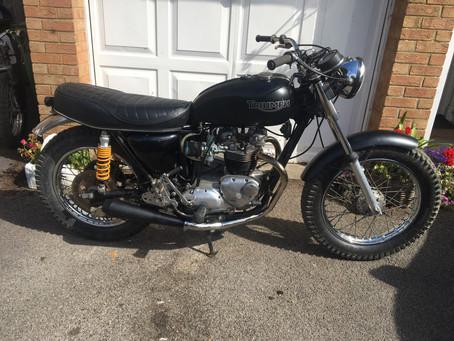 For Sale: 1977 Triumph T140