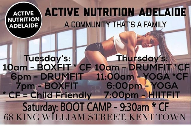 child friendly exercise class Adelaide