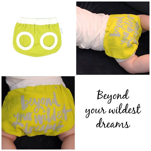 Beyond Your Wildest Dreams Nappy Cover-alls. 12-18 months