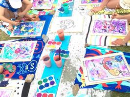Beach side art classes for kids in Adelaide - The Beach Studio