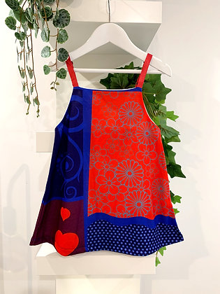 Hearts & Flowers dress - Deezo