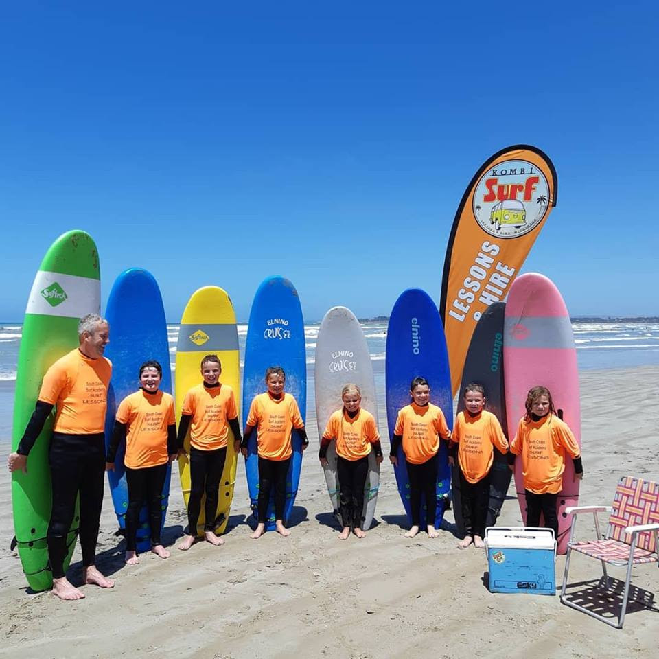 Kids surfing lessons in South Australia