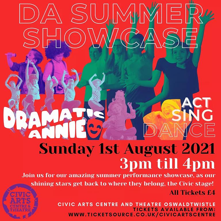 Dramatic Annie Showcase- Act, Sing, Dance!