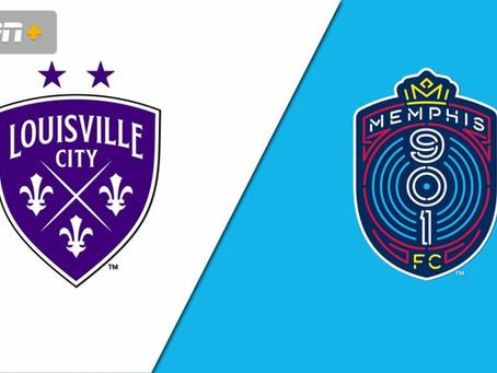 Next Match – Memphis 901 vs Louisville City – 09/25/2021